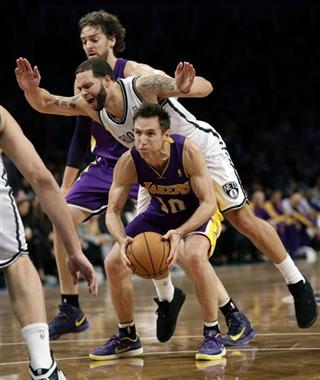 Deron Williams, Steve Nash, Pau Gasol