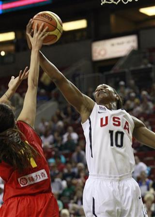 Zhao Shuang, Tamika Catchings