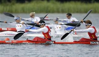 London Olympics Canoe Sprint China