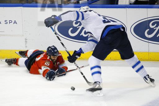 Jets Panthers Hockey