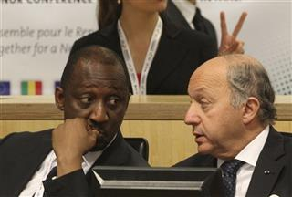 Laurent Fabius, Tieman Coulibaly