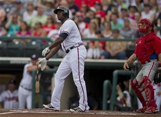 Justin Upton, Humberto Quintero