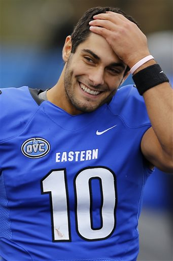 Jimmy Garoppolo Senior Bowl
