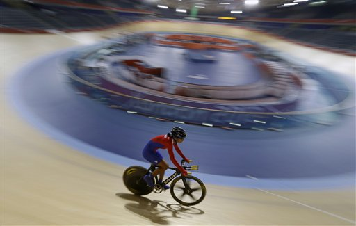 APTOPIX London Olympics Cycling Women