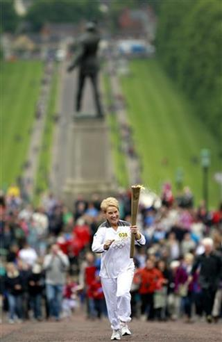 Britain Northern Ireland Olympic Torch