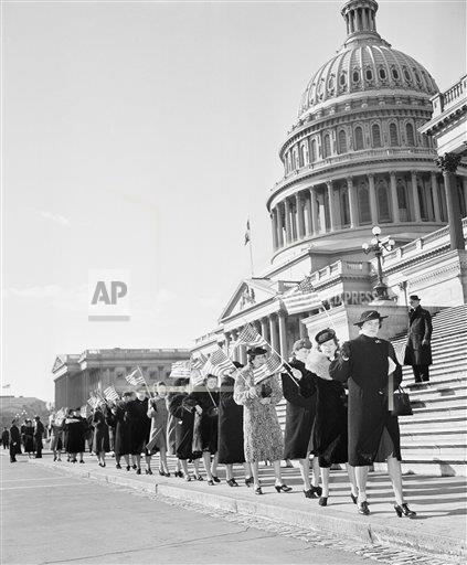Watchf Associated Press Domestic News  Dist. of Col United States APHS133437 Women Picket