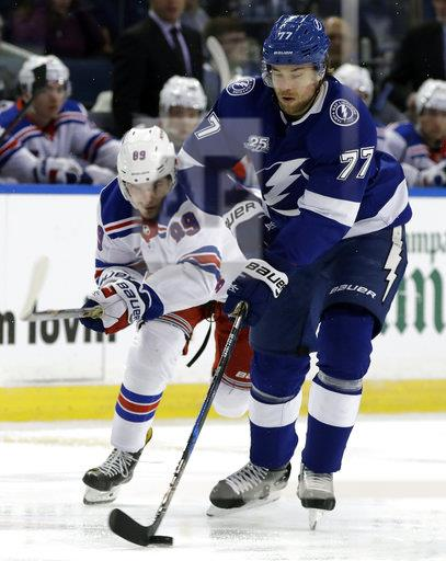 Rangers Lightning Hockey