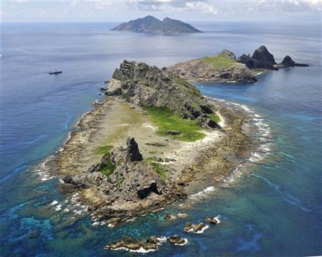 Japan Disputed Islands