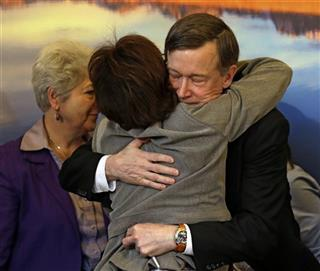 John Hickenlooper, Rhonda Fields