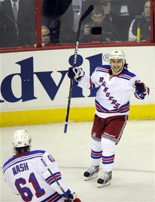 Mats Zuccarello, Rick Nash