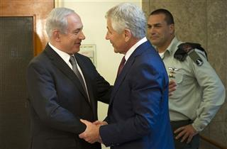 Chuck Hagel, Benjamin Netanyahu