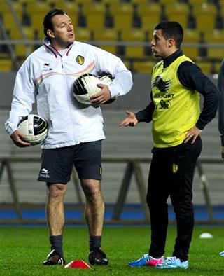 Marc Wilmots, Eden Hazard