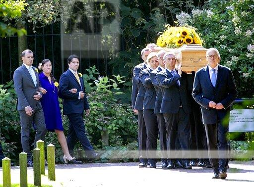 Funeral of HRH Princess Christina of The Netherlands Photo: Albert Nieboer / Netherlands OUT / Point de Vue OUT