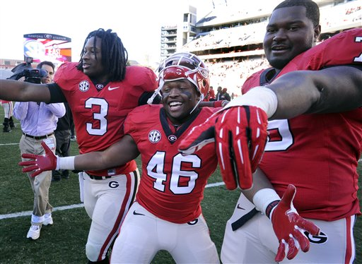 Todd Gurley, Mark Beard, Alexander Ogletree