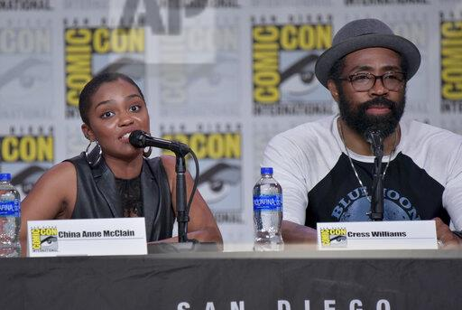 "2019 Comic-Con - ""Black Lightning"" Panel"