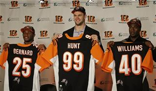 Giovani Bernard, Margus Hunt, Shawn Williams