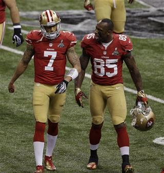 Colin Kaepernick, Vernon Davis