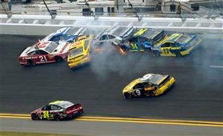 Trevor Bayne, Carl Edwards, David Gilliland, Terry Labonte, David Ragan, Ricky Stenhouse Jr., Jeff Gordon, Marcos Ambrose