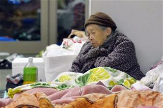 Japan Earthquake Shelter Life