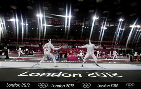 APTOPIX London Olympics Modern Pentathlon Men