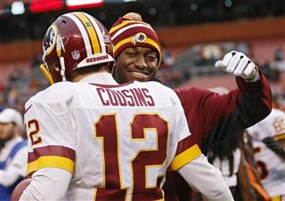 Robert Griffin III, Kirk Cousins