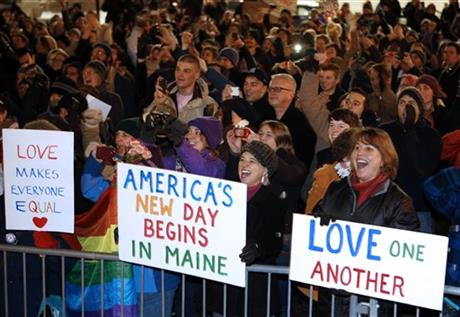 Gay Marriage Maine