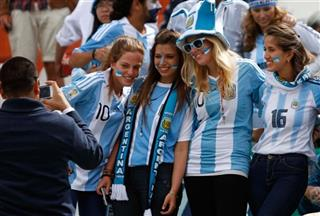 Bolivia Argentina WCup Soccer