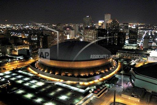 Nfl stadiums new orleans saints buy photos ap images for Mercedes benz new orleans service