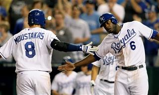 Mike Moustakas Lorenzo Cain