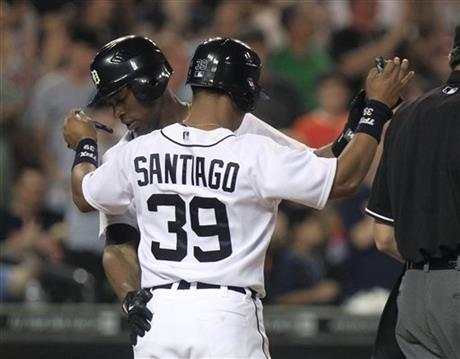 Austin Jackson, Ramon Santiago