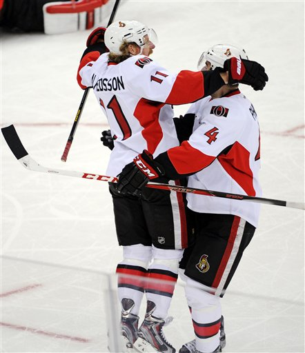 Daniel Alfredsson, Chris Phillips