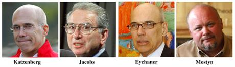 Steve Mostyn, Jeffrey Katzenberg, Fred Eychaner, Irwin Jacobs