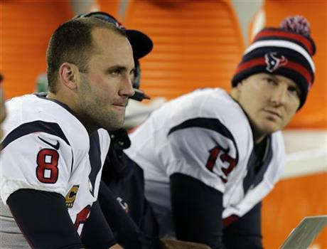 Matt Schaub, T.J. Yates
