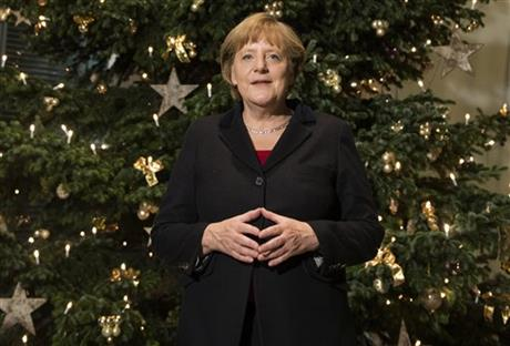 Germany Merkel Christmas Tree