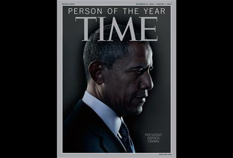 TIME Names President Obama PERSON OF THE YEAR!!!