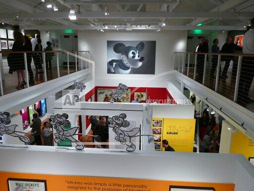 90 Years Mickey Mouse - Exhibition in San Francisco