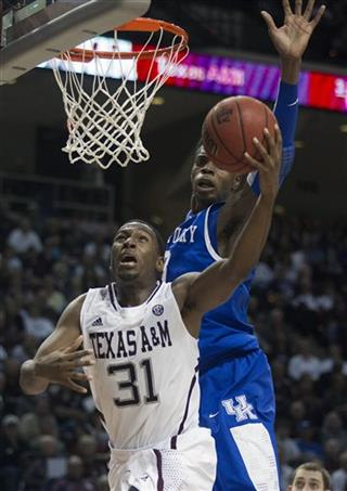 Kentucky Texas A M Basketball