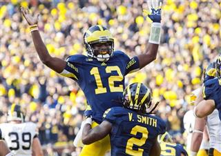 Devin Gardner, Vincent Smith