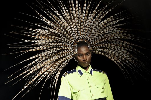 Britain Fashion Week Philip Treacy