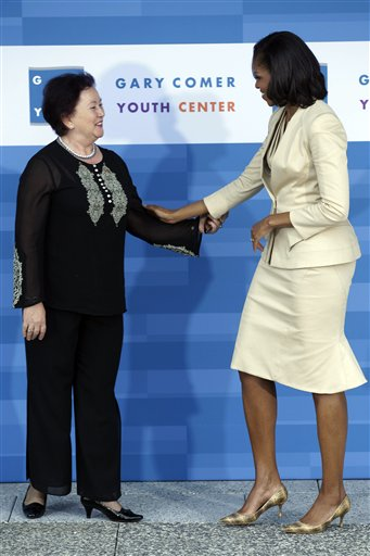 Michelle Obama, Liri Berisha