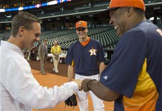 Craig Biggio, Eduardo Perez, Mark Appel
