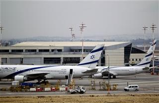 Mideast Israel Airline Strike