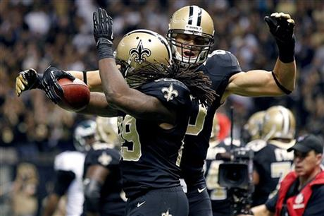 Jimmy Graham, Chris Ivory