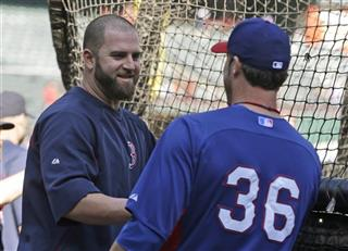 Mike Napoli, Joe Nathan