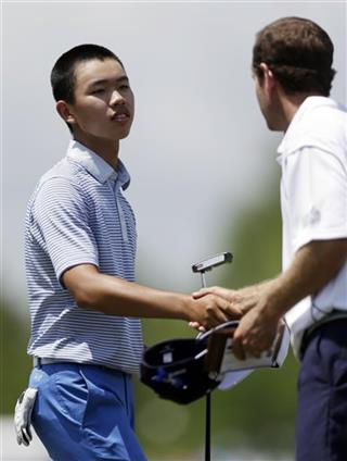 Guan Tianlang, Lee Williams