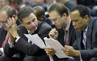 Rick Pitino, Mike Balado, Kevin Keatts