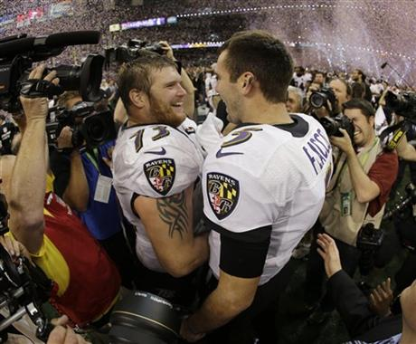Joe Flacco, Marshal Yanda