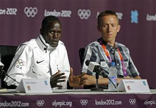 London Olympics Marial Athletics