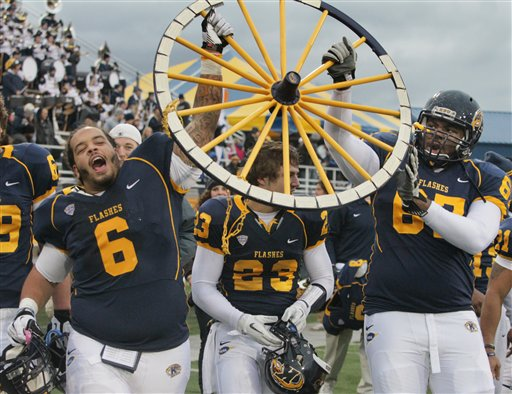 Kent States Climb Football