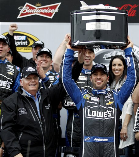 Jimmie Johnson, Rick Hendrick